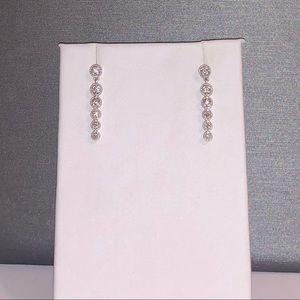 NEW Genuine .34ctw H-VS Diamond earrings